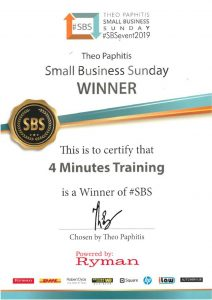4 Minutes SBS Winners 2018
