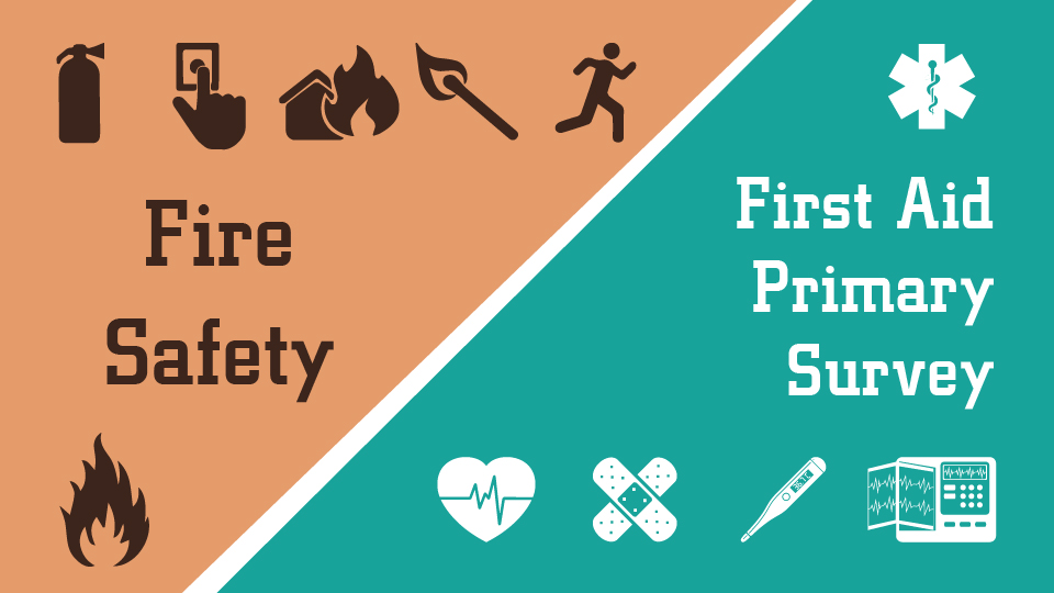 First Aid / Fire Safety