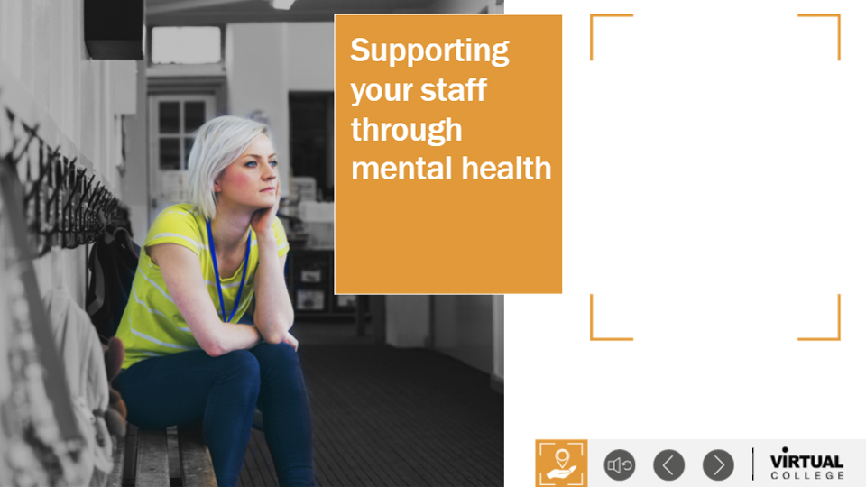 Supporting your staff through mental health