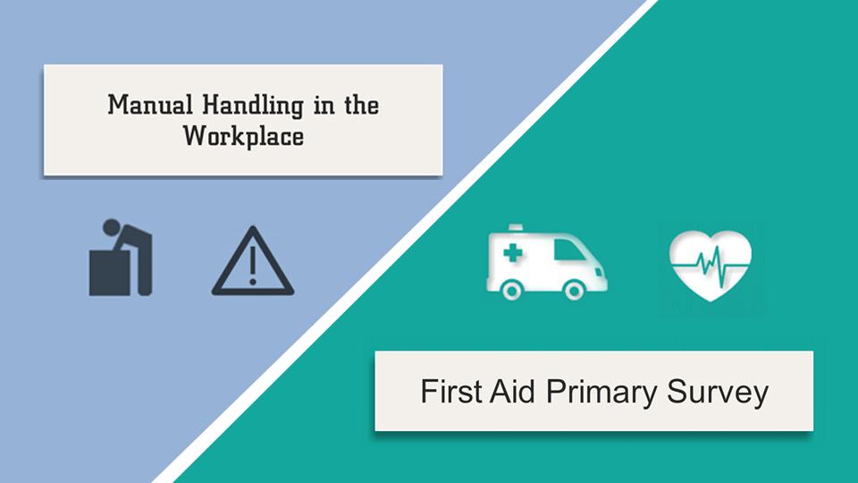 Manual Handling / First Aid